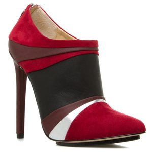 GX by Gwen Stefani Stiletto Suede Silver Red Red/Black/Brown/Silver Pumps