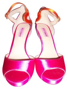 Betsey Johnson multicolor Pink/Orange Formal
