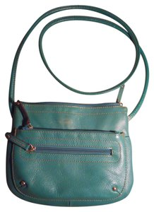 Tignanello Leather Organizer Cross Body Bag
