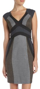 Rebecca Taylor Office Tweed Designer Occasion Dress