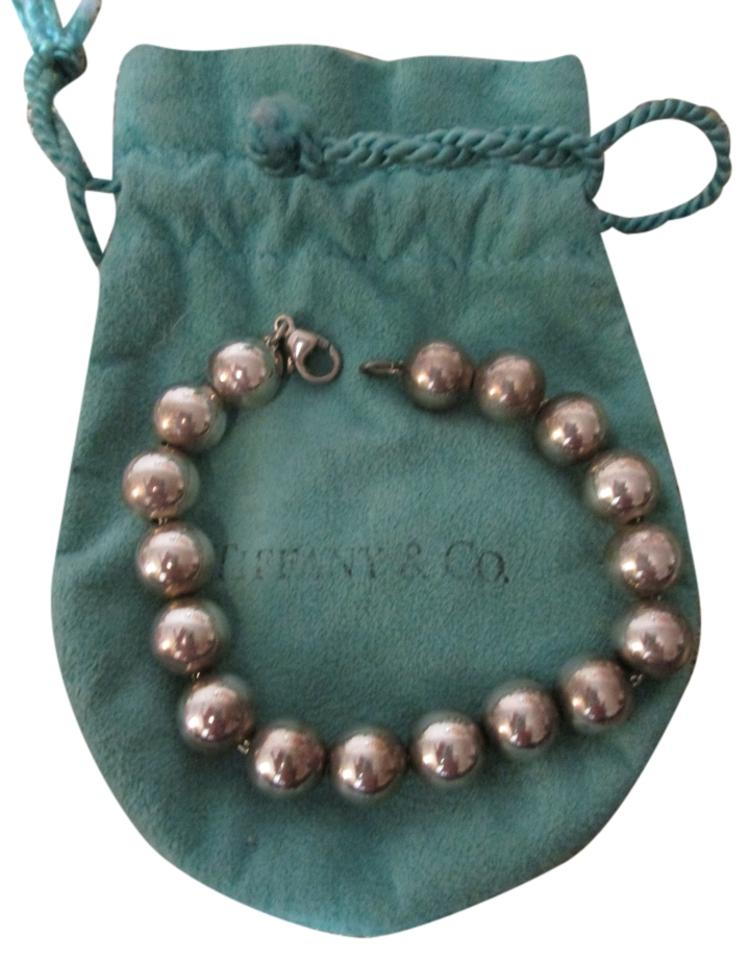 ffe97cdee Tiffany & Co. Sterling Silver Bead with 10mm Beads Bracelet - Tradesy