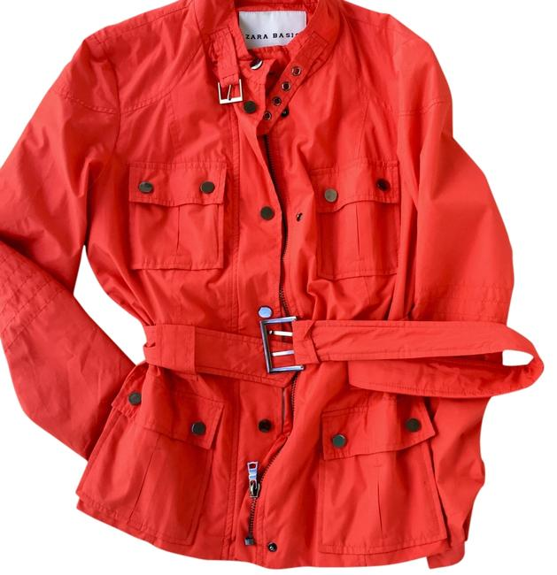Item - Neon Orange Or Fall Jacket Size 4 (S)