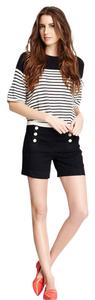 Level 99 Nautical Button Fly Denim Shorts