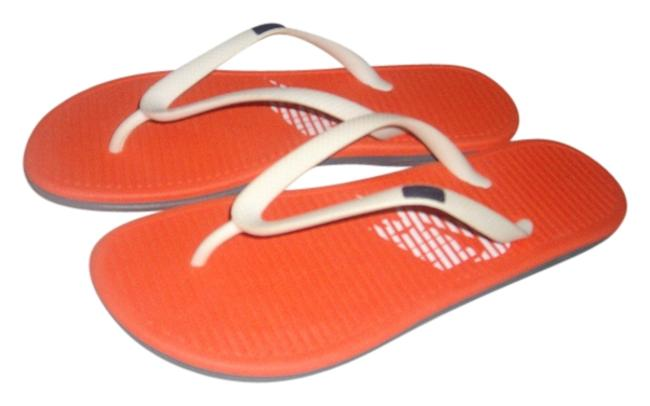 Item - Orange New Women Grey Bottom Outer Sole W10 Sandals Size US 10 Regular (M, B)