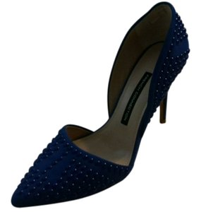 French Connection Studded Royal blue Pumps