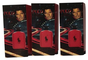 Ralph Lauren RALPH LAUREN - POLO RED Perfume for Men - Sample Spray Vial - 3 Pieces