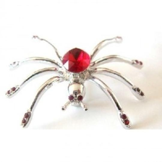 Preload https://item4.tradesy.com/images/silver-red-siam-crystals-spider-halloween-striking-broochpin-146598-0-0.jpg?width=440&height=440