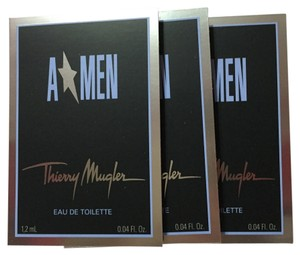 Thierry Mugler THIERRY MUGLER - A MEN Perfume for Men - Sample Spray Vial - 3 Pieces