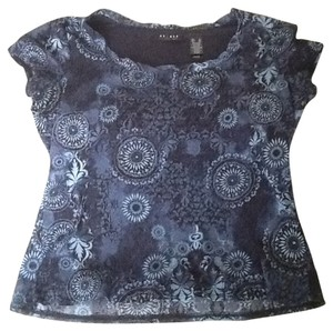 Axcess Top Black, Blue