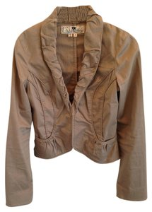 Jolt Cotton Work Attire Light Mocha Blazer