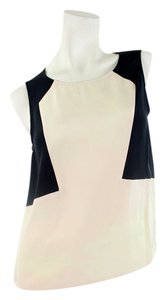 Marissa Webb Top Black and Beige