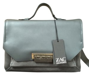 Zac Posen Leather/suede Eartha Courier Messenger Shoulder Bag