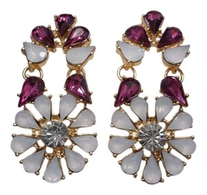 Other Blush Flower Power Fashion Earrings w Free Shipping