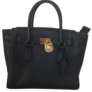 Michael Kors Hamilton Navy Traveler Satchel