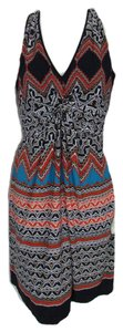 Laundry by Shelli Segal short dress Red Mandarin Summer on Tradesy