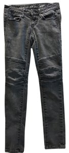 Converse Moto Skinny Jeans-Distressed