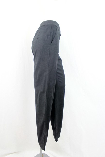 St. John Straight Pants Charcoal Grey