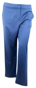 St. John Straight Pants Navy Blue