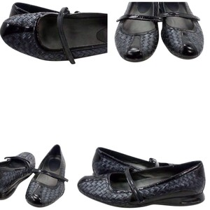 609ea12350c Cole Haan Leather Patent Leather Nike Air Woven Black Flats