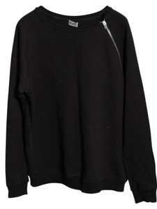Saint Laurent Zip Shoulder Crewneck Mens Sweater