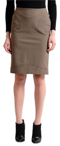 Versace Skirt Brown