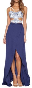 Jet Set Diaries Maxi Skirt Blue