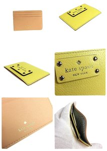 Kate Spade Kate Spade Wellesley Graham Card Case (Yellow)
