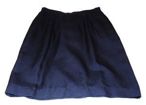 Atrium Collection Knee-length Skirt Navy blue