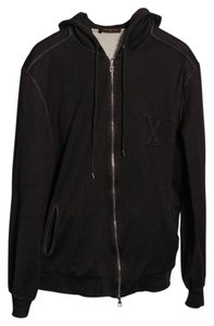 Louis Vuitton Black Mens Rare Sweatshirt