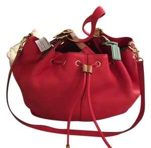 Coach Satchel in Vermillion