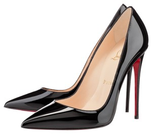 Christian Louboutin Pump Red Sole Stiletto Black Pumps