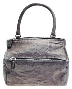 Givenchy Leather Pandora Satchel in Taupe