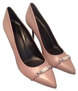 Gucci Nappamoorea Molaita Brandnew Leatherpump Mauve Pumps