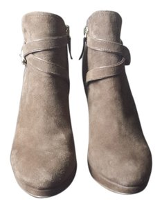 White House | Black Market Suede Leather Brown Boots