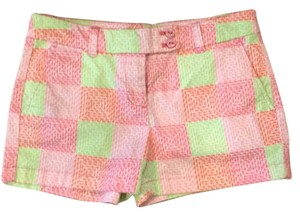 Vineyard Vines Mini/Short Shorts Pink green orange