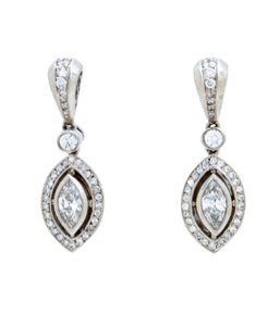 Beaudry Couture Collection Diamond Earrings