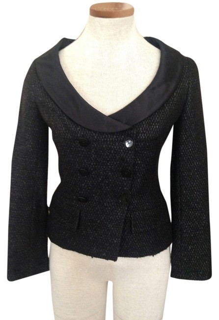 Preload https://item3.tradesy.com/images/chanel-black-tweed-spring-jacket-size-4-s-1466537-0-0.jpg?width=400&height=650