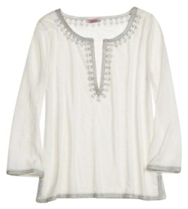 Calypso St. Barth Top White