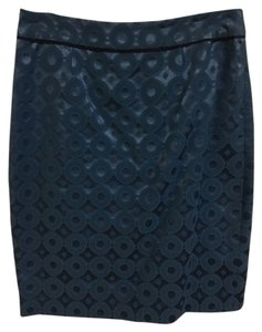 Anthropologie Pencil Skirt Blue