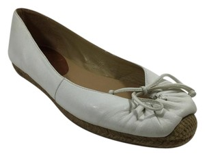 Christian Louboutin Leather White Flats