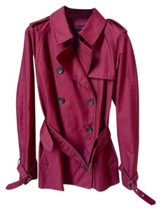 Coach Classic Short Fall Winter Trench Coat