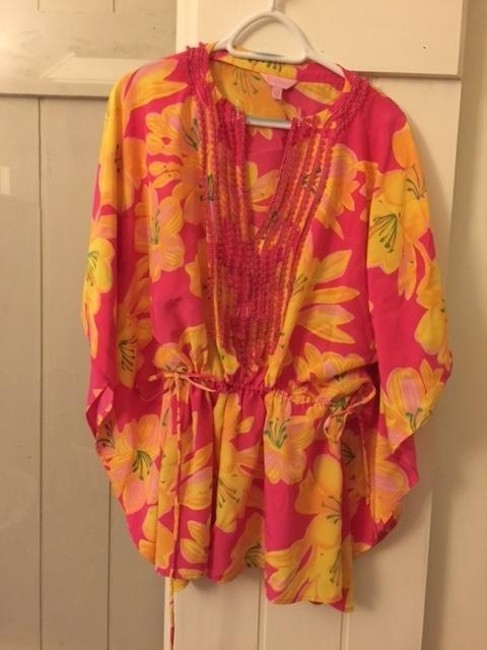 Lilly Pulitzer Top Pink / Multi