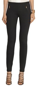 Emilio Pucci Jersey Twill Chic Trouser Skinny Pants Black