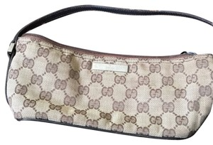 Gucci Tones Of Brown Clutch