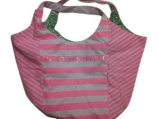 Victoria's Secret Tote in Pink Stipe
