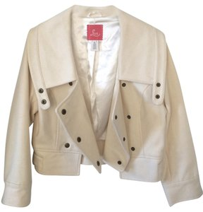 Lux Cropped White Jacket