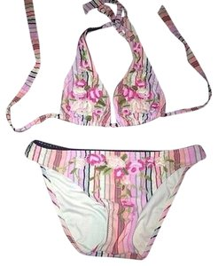 Betsey johnson stripe bikini