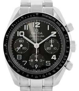 Omega Omega Speedmaster Chronograph Watch 324.30.38.40.06.001 Box Papers