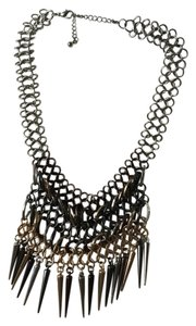 BaubleBar Necklace with dangling spikes