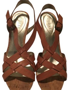 Guess Chestnut brown Wedges